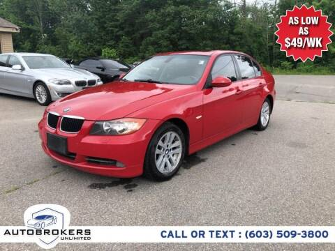 2007 BMW 3 Series for sale at Auto Brokers Unlimited in Derry NH