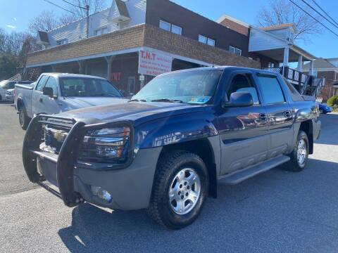2002 Chevrolet Avalanche for sale at TNT Auto Sales in Bangor PA