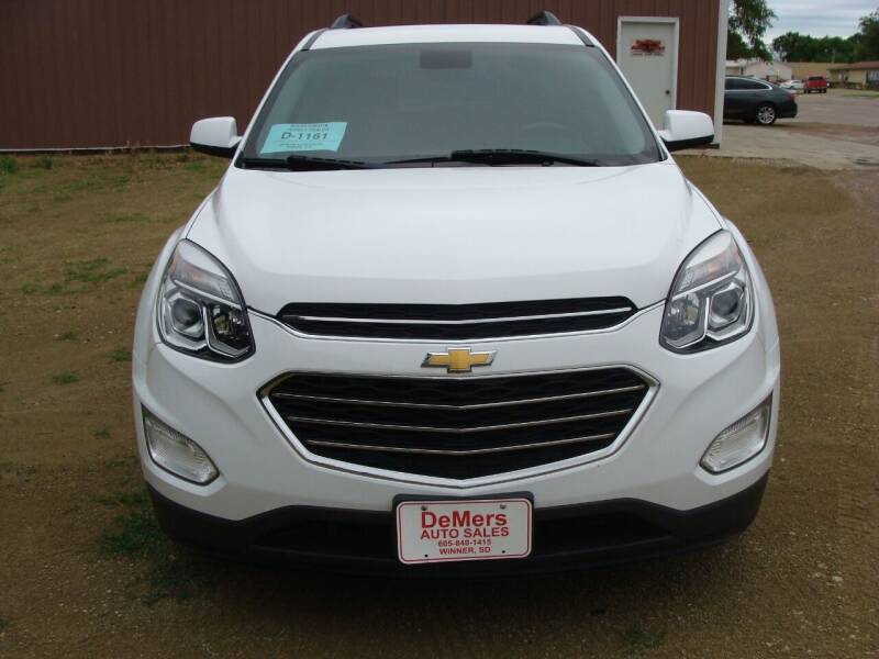 2017 Chevrolet Equinox for sale at DeMers Auto Sales in Winner SD