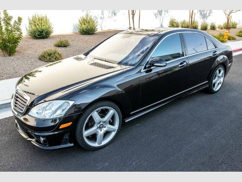 2007 Mercedes-Benz S-Class for sale at REVEURO in Las Vegas NV