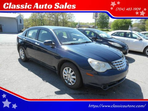 2007 Chrysler Sebring for sale at Classic Auto Sales in Maiden NC