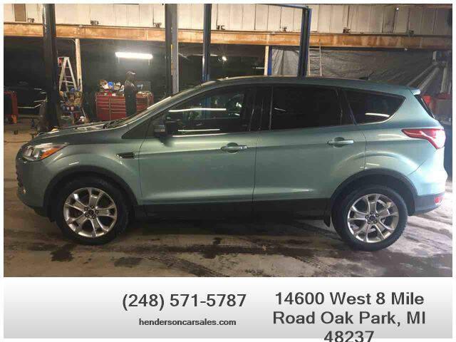 2013 Ford Escape for sale at Henderson Automotive, LLC in Oak Park MI