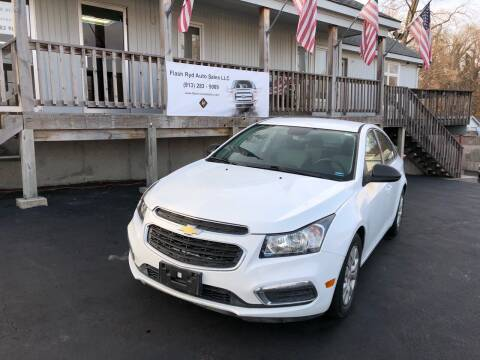2016 Chevrolet Cruze Limited for sale at Flash Ryd Auto Sales in Kansas City KS