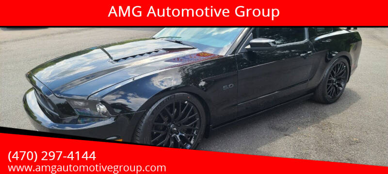 2014 Ford Mustang for sale at AMG Automotive Group in Cumming GA