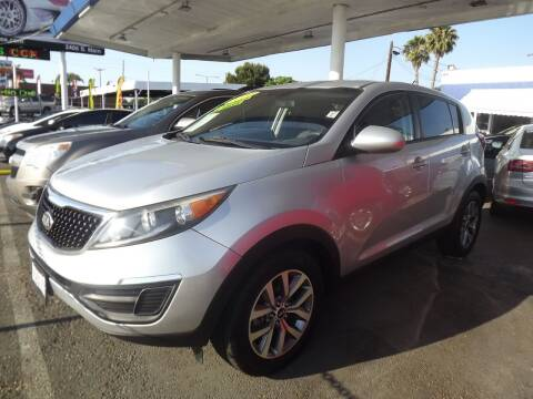2014 Kia Sportage for sale at PACIFICO AUTO SALES in Santa Ana CA