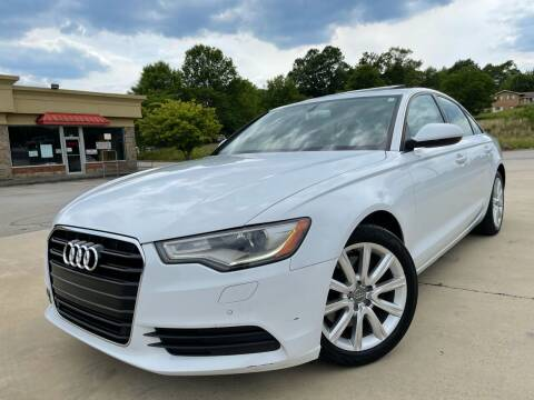 2015 Audi A6 for sale at Gwinnett Luxury Motors in Buford GA