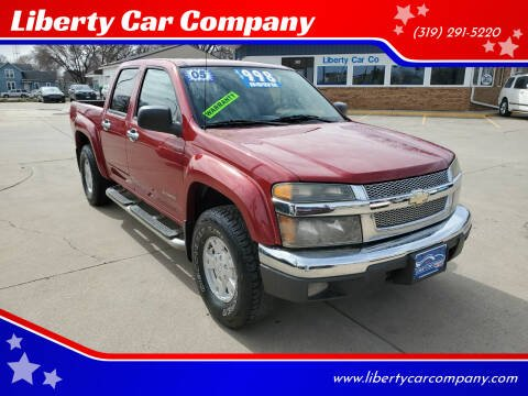 2005 Chevrolet Colorado for sale at Liberty Car Company in Waterloo IA