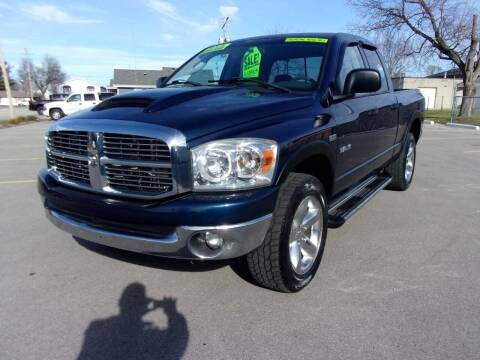 2008 Dodge Ram Pickup 1500 for sale at Ideal Auto Sales, Inc. in Waukesha WI