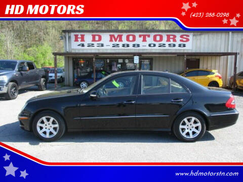 2008 Mercedes-Benz E-Class for sale at HD MOTORS in Kingsport TN