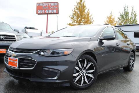 2016 Chevrolet Malibu for sale at Frontier Auto & RV Sales in Anchorage AK