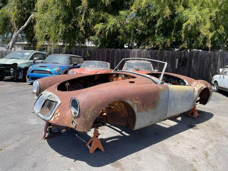 1959 MG A for sale at Dodi Auto Sales in Monterey CA