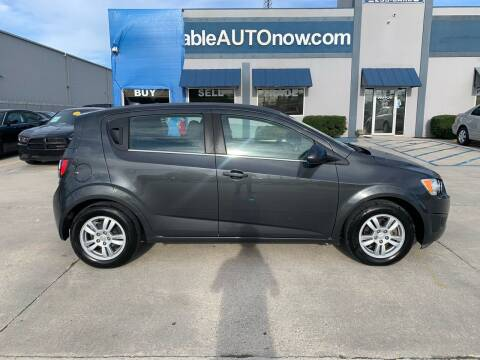 2014 Chevrolet Sonic for sale at Affordable Autos in Houma LA