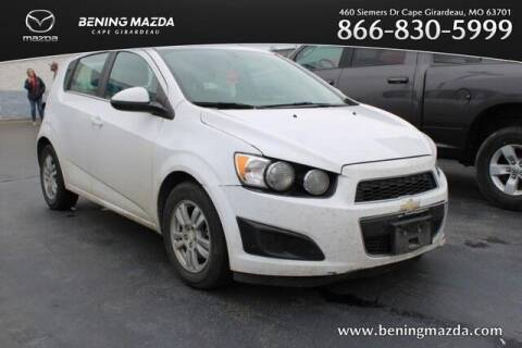 2015 Chevrolet Sonic for sale at Bening Mazda in Cape Girardeau MO