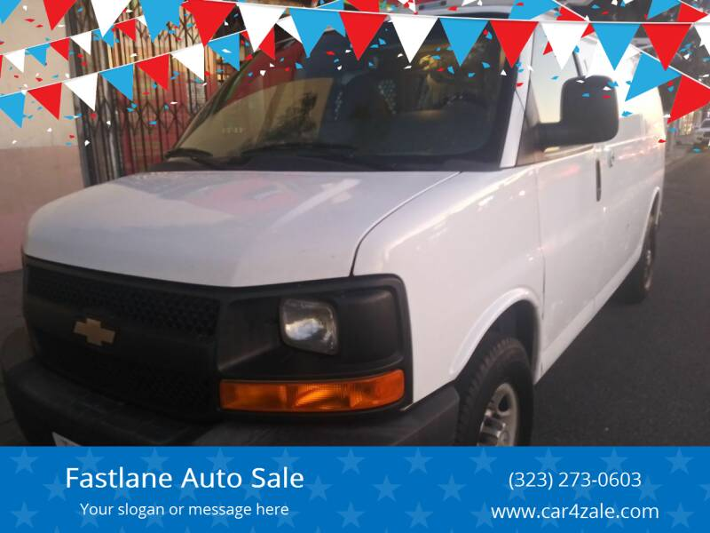 2013 Chevrolet Express Cargo for sale at Fastlane Auto Sale in Los Angeles CA