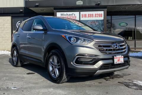 2017 Hyundai Santa Fe Sport for sale at Michaels Auto Plaza in East Greenbush NY