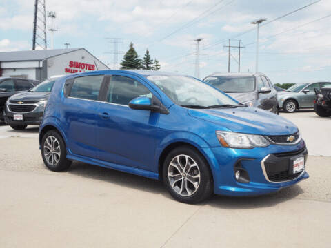 2017 Chevrolet Sonic for sale at SIMOTES MOTORS in Minooka IL