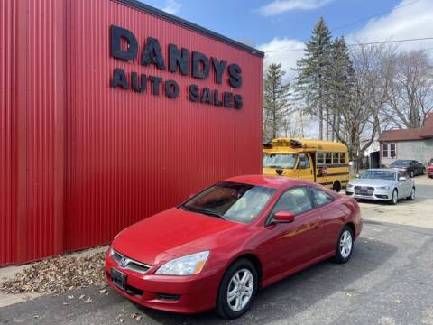 2006 Honda Accord for sale at Dandy's Auto Sales in Forest Lake MN