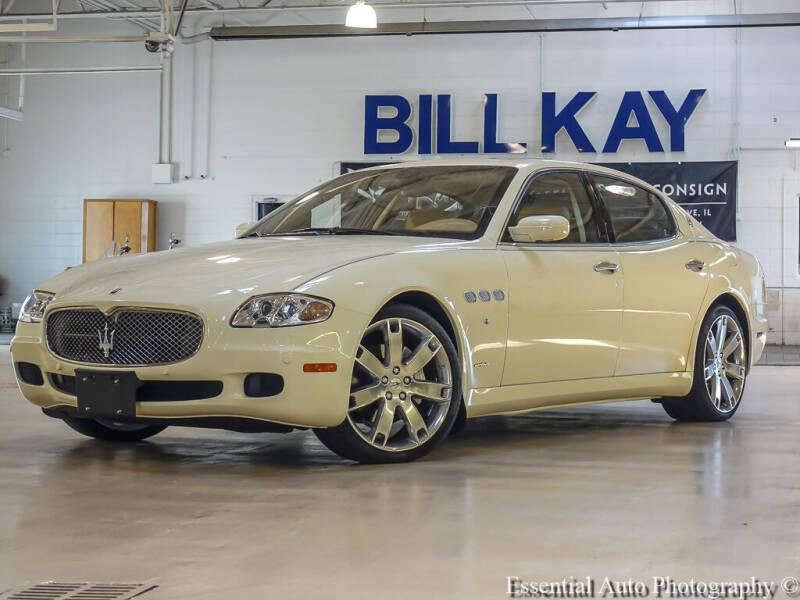 2008 Maserati Quattroporte for sale at Bill Kay Corvette's and Classic's in Downers Grove IL