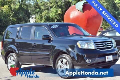 2012 Honda Pilot for sale at APPLE HONDA in Riverhead NY