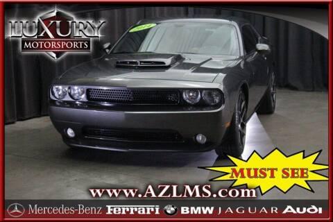 2014 Dodge Challenger for sale at Luxury Motorsports in Phoenix AZ