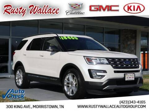2016 Ford Explorer for sale at RUSTY WALLACE CADILLAC GMC KIA in Morristown TN