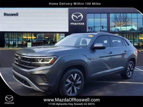2020 Volkswagen Atlas Cross Sport for sale at Mazda Of Roswell in Roswell GA