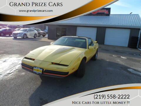 1987 Pontiac Firebird for sale at Grand Prize Cars in Cedar Lake IN