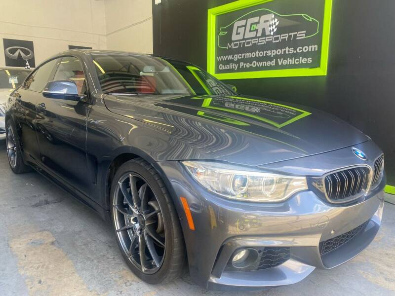 2016 BMW 4 Series for sale at GCR MOTORSPORTS in Hollywood FL