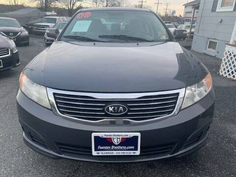 2009 Kia Optima for sale at Fuentes Brothers Auto Sales in Jessup MD
