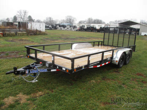 2021 Load Trail Utility XT8318032 for sale at Rondo Truck & Trailer in Sycamore IL
