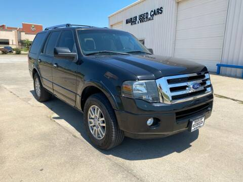 2012 Ford Expedition for sale at MARLER USED CARS in Gainesville TX