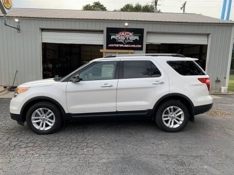 2011 Ford Explorer for sale at Jack Foster Used Cars LLC in Honea Path SC
