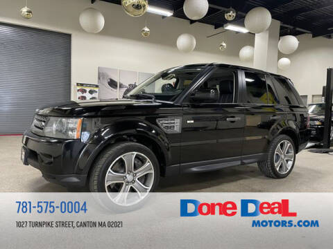 2010 Land Rover Range Rover Sport for sale at DONE DEAL MOTORS in Canton MA