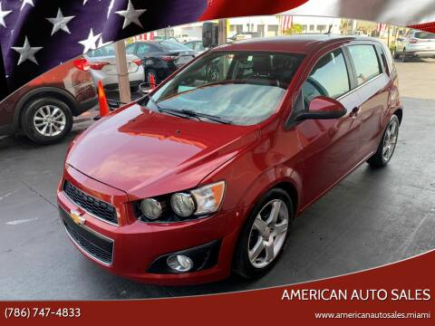 2014 Chevrolet Sonic for sale at American Auto Sales in Hialeah FL