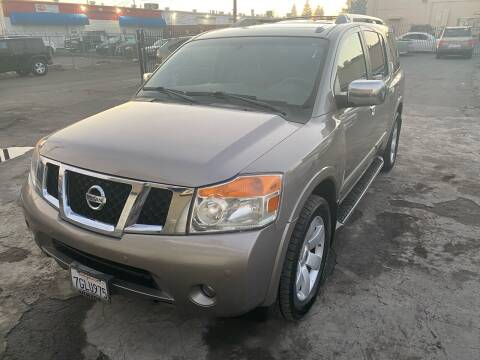 2008 Nissan Armada for sale at 101 Auto Sales in Sacramento CA