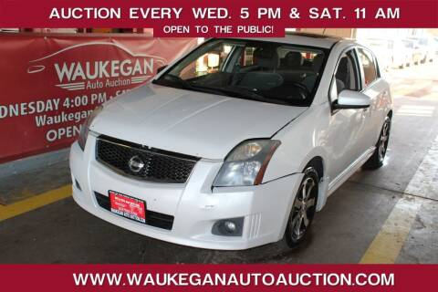2012 Nissan Sentra for sale at Waukegan Auto Auction in Waukegan IL