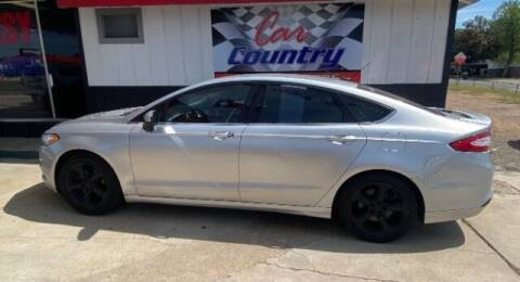 2016 Ford Fusion for sale at Car Country in Victoria TX