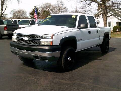 2005 Chevrolet Silverado 2500HD for sale at Stoltz Motors in Troy OH