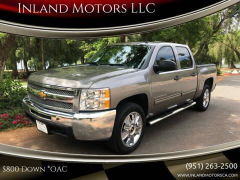 2012 Chevrolet Silverado 1500 for sale at Inland Motors LLC in Riverside CA