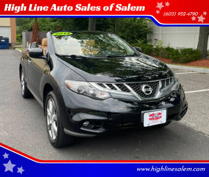 2014 Nissan Murano CrossCabriolet for sale at High Line Auto Sales of Salem in Salem NH
