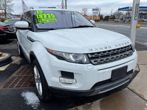 2013 Land Rover Range Rover Evoque for sale at GRAND USED CARS  INC in Little Ferry NJ