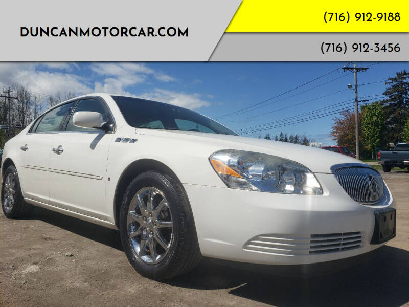 2007 Buick Lucerne for sale at DuncanMotorcar.com in Buffalo NY