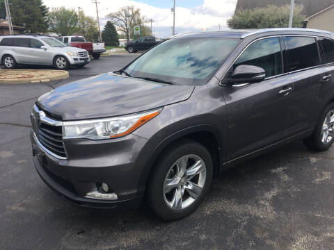 2015 Toyota Highlander for sale at Hoss Sage City Motors, Inc in Monticello IL