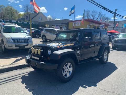 2010 Jeep Wrangler Unlimited for sale at Deleon Mich Auto Sales in Yonkers NY