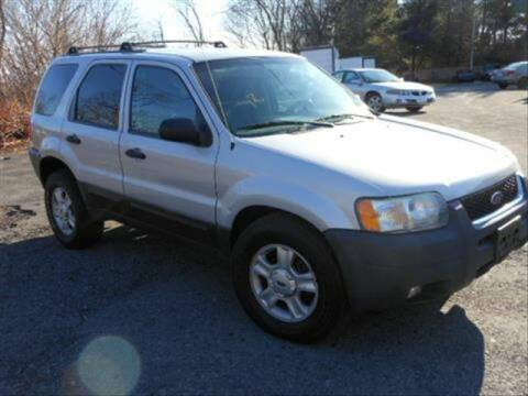 2003 Ford Escape for sale at CASTLE AUTO AUCTION INC. in Scranton PA