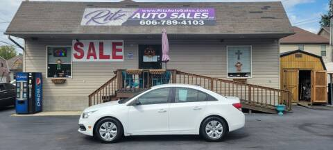 2016 Chevrolet Cruze Limited for sale at Ritz Auto Sales, LLC in Paintsville KY