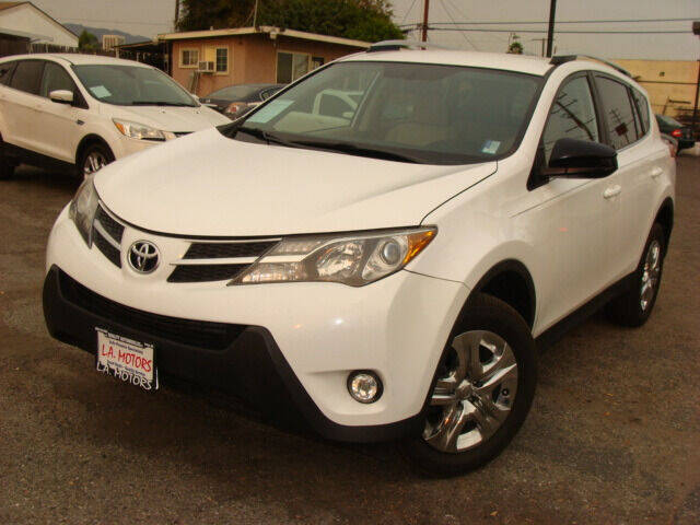 2013 Toyota RAV4 for sale at L.A. Motors in Azusa CA