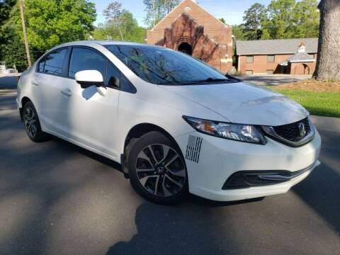 2015 Honda Civic for sale at McAdenville Motors in Gastonia NC