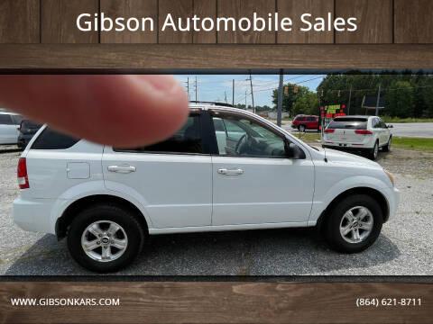 2005 Kia Sorento for sale at Gibson Automobile Sales in Spartanburg SC