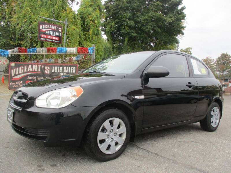 2009 Hyundai Accent for sale at Vigeants Auto Sales Inc in Lowell MA